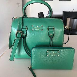 Like New Kate Spade Shoulder Bag & Matching Wallet